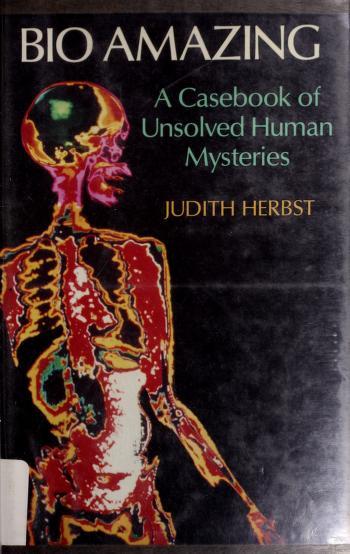 Cover of: Bio amazing   Judith Herbst