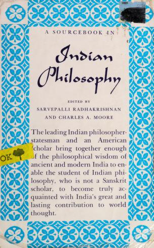 Cover of: A source book in Indian philosophy | Radhakrishnan, S.