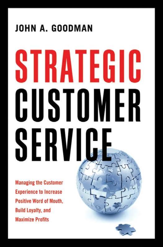 Strategic customer service by John A. Goodman
