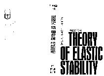 Theory of elastic stability by Stephen Timoshenko